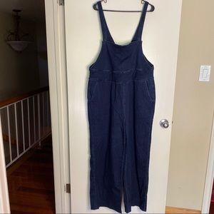 Denim overalls! Size 16/18